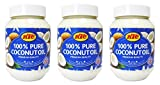 KTC 100% Pure Coconut Multipurpose Oil 500ml Jar x 3 Qty (pack of 3) - Used f... by Ktc