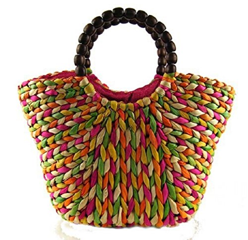 Lanna Siam , Damen Henkeltasche mehrfarbig mehrfarbig