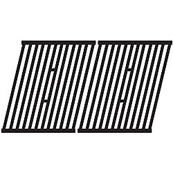 Music City Metals 64362 Grillrostset aus mattem Gusseisen für Gasgrills der Marken Broil King und Sterling (2-teilig)