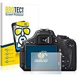 BROTECT AirGlass Flexible Glasfolie für Canon EOS 600D Schutzfolie, Glas Folie – Extrahart, Ultraleicht