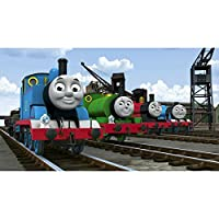 """Thomas The Tank Engine and Friends -Canvas Picture Wall Art - Size 18"""" x 8"""""""