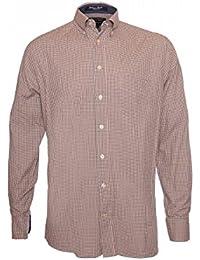 it 50 m bordeaux Amazon Abbigliamento Uomo 100 EUR camicia dtIxxqw