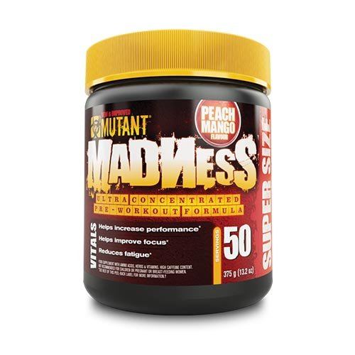 Mutant - Mutant Madness (50serv. - 375g) Pfirsich-Mango