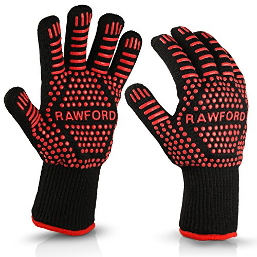 Rawford - Premium Ofenhandschuhe - 500 °C
