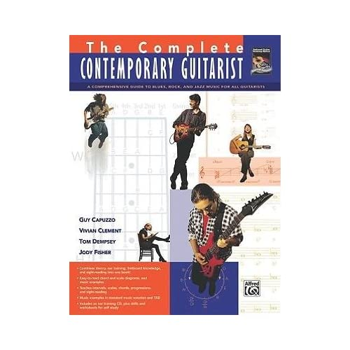 [(The Complete Contemporary Guitarist: A Comprehensive Guide to Blues, Rock and Jazz Music for All Guitarists)] [Author: Guy Capuzzo] published on (September, 2009)