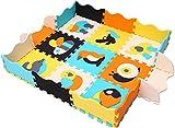XMTMMD Baby Puzzle matte Play Bereich Weich ineinandergreifende SCHAUMSTOFF Spielmatte Set Schutz Bodenbelag Fliesen für Kinder AM14B
