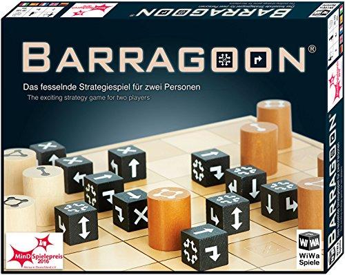 WiWa Spiele 790016 - BARRAGOON - L'avvincente gioco di strategia per due persone (2 giocatori gioco giochi da tavolo) - Vincitore MinD-Spielepreis 2016