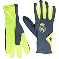 Adidas Real Fielplayer Guantes-Unisex, Lima/Gris, L