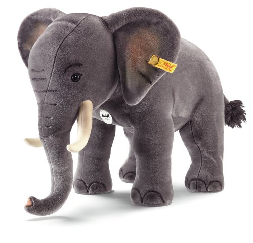 Steiff 501470 Studio Elefant, 75 cm, Webpelz, grau