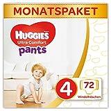 Huggies Windeln Ultra Comfort Pants Größe 4 Monatsbox, 1er Pack (1 x 72 Stück)