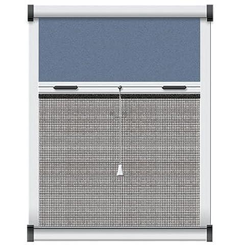 Schellenberg 50519 Insektenschutz- und Verdunkelungsrollo für Dachfenster 90 x 170