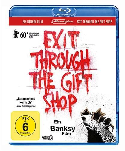 Banksy - Exit through the Gift Shop [Blu-ray] (inkl. Wendecover und deutscher Fassung) Preisvergleich