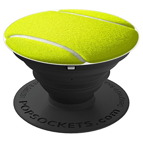 TENNIS BALL SPORT DESIGN - PopSockets Ausziehbarer Sockel und Griff für Smartphones und Tablets