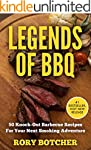 Legends Of BBQ: 50 Knock-Out Barbecue...