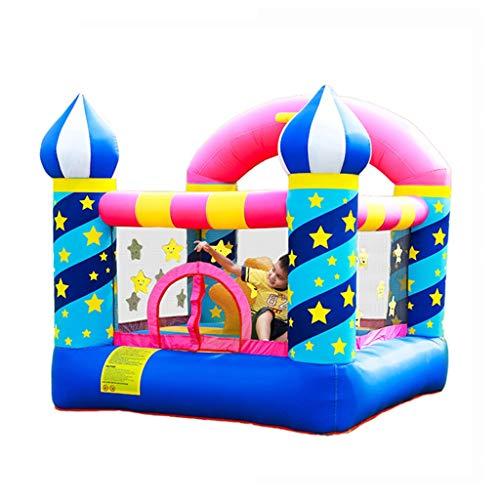 Bouncy Castles Outdoor Large Children's Entertainment Toys Gifts For Children Inflatable Cartoon Trampoline Slides (Color : Color, Size : 225 * 220 * 215cm)