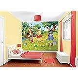 Walltastic Paper Walltastic Disney Winnie the Pooh Mural, Pack of 1