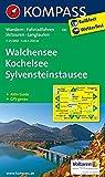 Walchensee - Kochelsee - Sylvensteinstausee 1 : 25 000: Wandern / Rad / Skitouren / Langlauf. GPS-genau