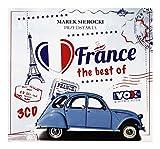 Joe Dassin / Jean-Francois Maurice / Pierre Bachelet: Marek Sierocki Przedstawia: I love... the best of France (digipack) [3CD]