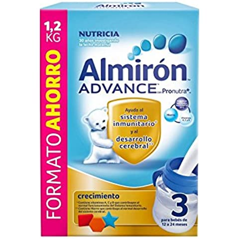 Almiron Advance 3 Crecimiento Leche En Polvo - 1200 gr