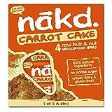 Nakd Multi Pack Case of 48 Bars (Carrot Cake)