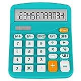 Helect Funzione Standard Tavolo Calcolatrice, Blu