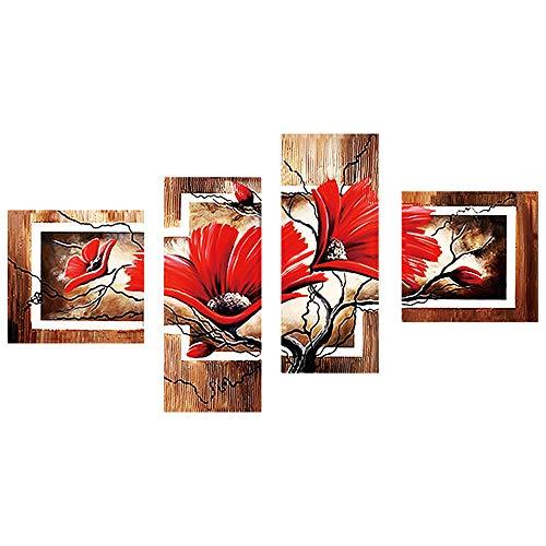 MCYs Peinture à Strass 5D, Peinture à Strass à Faire soi-même - avec Un Lot de Strass et Accessoires pour Broderie - Décoration idéale, Canvas Size: 90X45cm