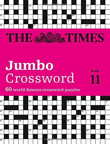 The Times Jumbo Crossword: Book 11: 60  World's famous crossword puzzles. (Crosswords)