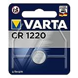 Varta 13501122 Lithium Knopfzelle (CR 1220, 1er Pack)