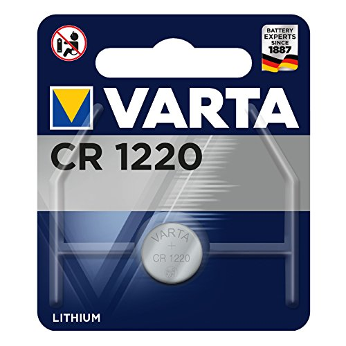 VARTA CR1220 - Pack de 1 pila (litio, 3 V, 35 mAh)