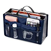 Orpio Multipocket Handbag Organizer For Easy Bag Switching (Dark Blue)