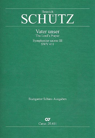Schütz: Vater unser, der du bist im Himmel (SWV 411 (op. 12 no. 14)). Partitur