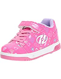 Heelys X2 Dual Up Shoes - Hot Pink / White / Hearts