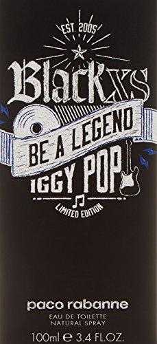 Paco Rabanne Black XS Be A Legend Iggy Pop EDT Spray 100 ml