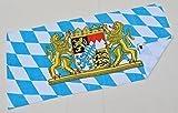 Badetuch Saunatuch Strandtuch Deutschland Bayern Mallorca Spanien Zielflagge (Bayern)