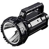 WRlight Linterna con Foco, luz de Mano para Acampar para Trabajo Pesado Linterna antorcha Fuente