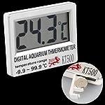 Digital LCD Aquarium Fish Tank Vivarium Meter Thermometer 7