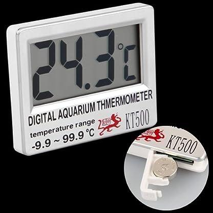 Digital LCD Aquarium Fish Tank Vivarium Meter Thermometer 3