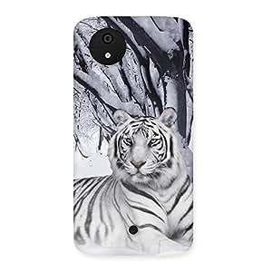 Impressive Snow Tiger Back Case Cover for Micromax Canvas A1