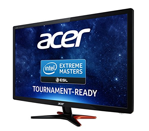 Acer GN246HLBbid 24 inch diverse FHD LED Gaming Monitor utilizing 144 Hz 1 ms 350 nits DVI HDMI Acer EcoDisplay Black Products
