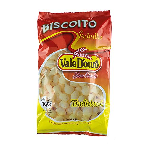 Biscoito de Polvilho Salgado VALE D´OURO Maniok Chips