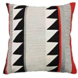 """Homen Embroidery Modern Aztec Cushion Cover 18""""x18"""""""