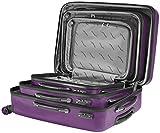 Packenger Velvet Koffer, Trolley, Hartschale  3er-Set in Lila, Größe M, L und XL - 10