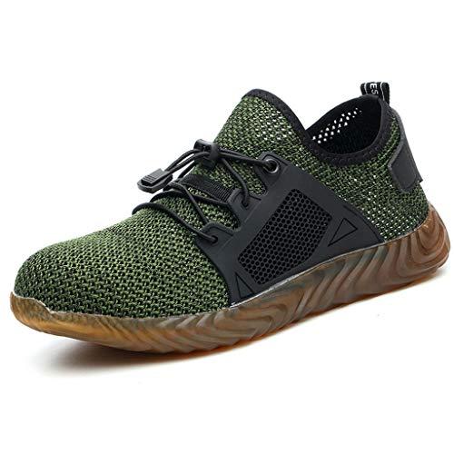 SEHRGUTGE Stahlkappe Sicherheitsschuhe für Männer & Damen, Cap Toe Leichte atmungsaktive Arbeitsschuhe, pannensichere Turnschuhe - Frauen Für Ankle-boots Nike