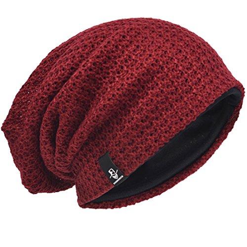 VECRY Bonnet Hiver Été Chapeau Tricoté...