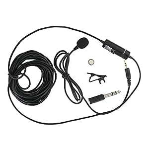 JJC SGM-38 de 3,5 mm Jack omnidirectionnel cravate Microphone pour Appareils Photo et Caméscopes