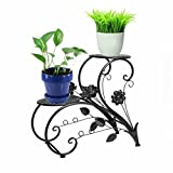 Metal Black Plant Flower Pot Stands Home Iron - Best Reviews Guide