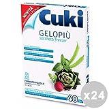 Set 24 CUKI Freezer Scatola 17X22 PICCOLI Contenitori per la cucina
