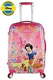 #10: Disney 22 inch Snow White Princess Printed Polycarbonate 4 wheel Kids Trolley Bag
