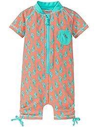 Schiesser Baby Girls' Seepferdchen Selina Surfanzug Swimsuit