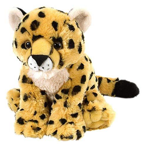 Wild Republic 10833 Plüsch Gepard Baby, Cuddlekins Kuscheltier, Plüschtier, 20 cm (Katze Kuscheltier Wild)